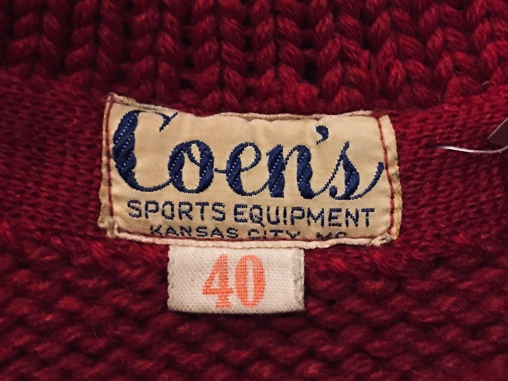 マグネッツ神戸店11/20(水)Vintage入荷! #2 Athletic Knit Item!!!_c0078587_16521000.jpg