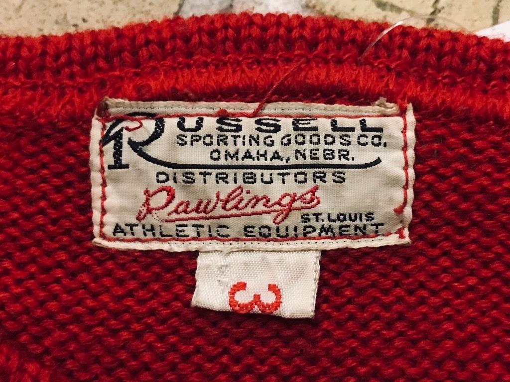 マグネッツ神戸店11/20(水)Vintage入荷! #2 Athletic Knit Item!!!_c0078587_16532215.jpg