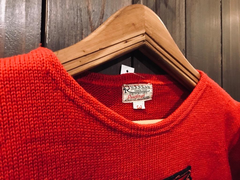 マグネッツ神戸店11/20(水)Vintage入荷! #2 Athletic Knit Item!!!_c0078587_16532292.jpg