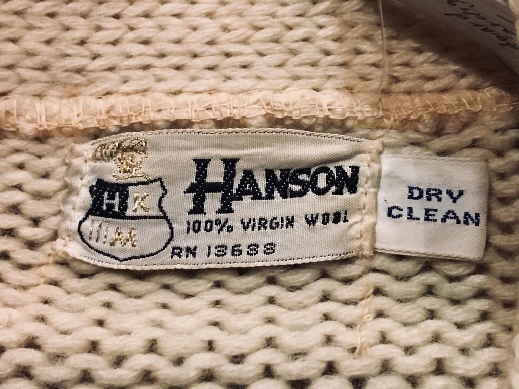 マグネッツ神戸店11/20(水)Vintage入荷! #2 Athletic Knit Item!!!_c0078587_17004724.jpg
