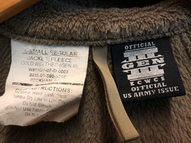 11月23日(土)マグネッツ大阪店スーペリア入荷!!#2 Military編Part2!! Level 1,2,3 FleeceJacket!!_c0078587_19342491.jpg