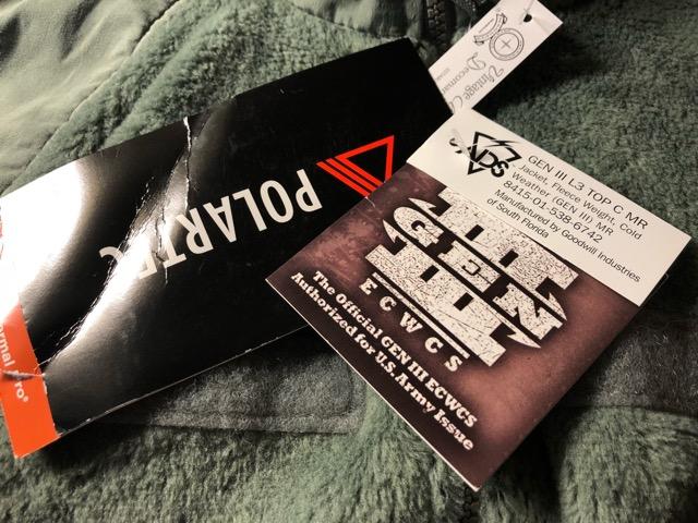 11月23日(土)マグネッツ大阪店スーペリア入荷!!#2 Military編Part2!! Level 1,2,3 FleeceJacket!!_c0078587_19393335.jpg