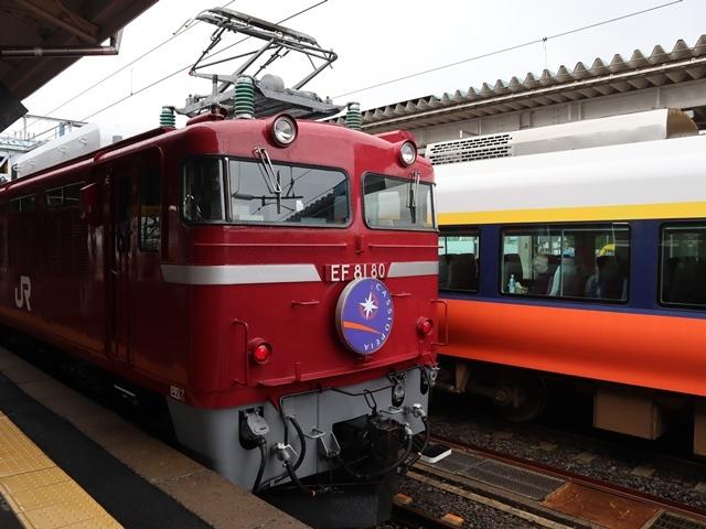 藤田八束の鉄道写真@青い森鉄道、JR青森駅でカシオペアに出逢い写真をゲット、リゾート列車が青森駅を素敵に演出するとき_d0181492_23525051.jpg