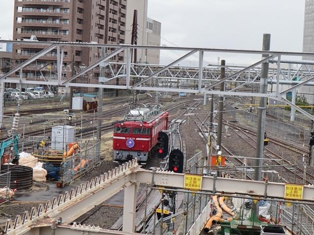 藤田八束の鉄道写真@青い森鉄道、JR青森駅でカシオペアに出逢い写真をゲット、リゾート列車が青森駅を素敵に演出するとき_d0181492_23530951.jpg