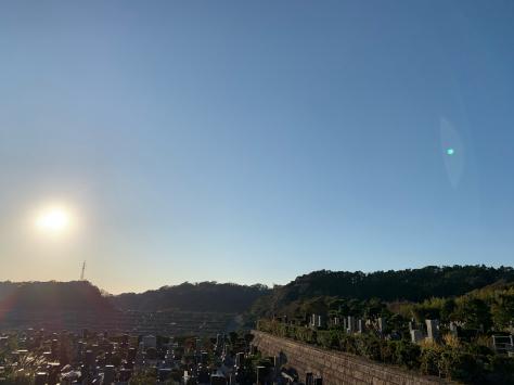 鎌倉霊園。ご先祖様のお墓参り。_a0112393_18425029.jpg