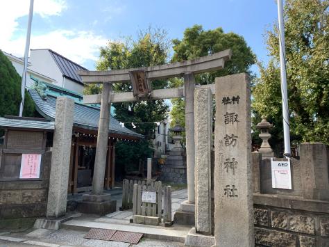 氏神様神社で、産土神社の諏訪神社。_a0112393_18474908.jpg