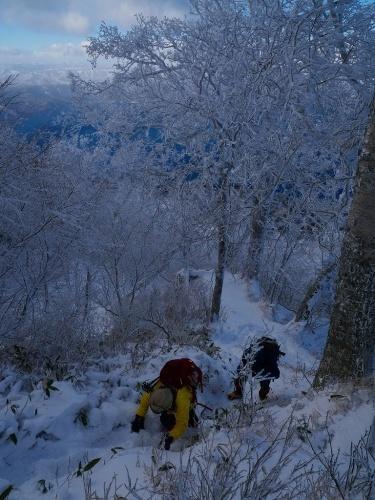 まるで厳冬期の風不死岳(1102m)、2019.11.17_f0138096_12152310.jpg