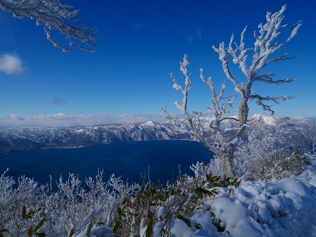 まるで厳冬期の風不死岳(1102m)、2019.11.17_f0138096_12152411.jpg