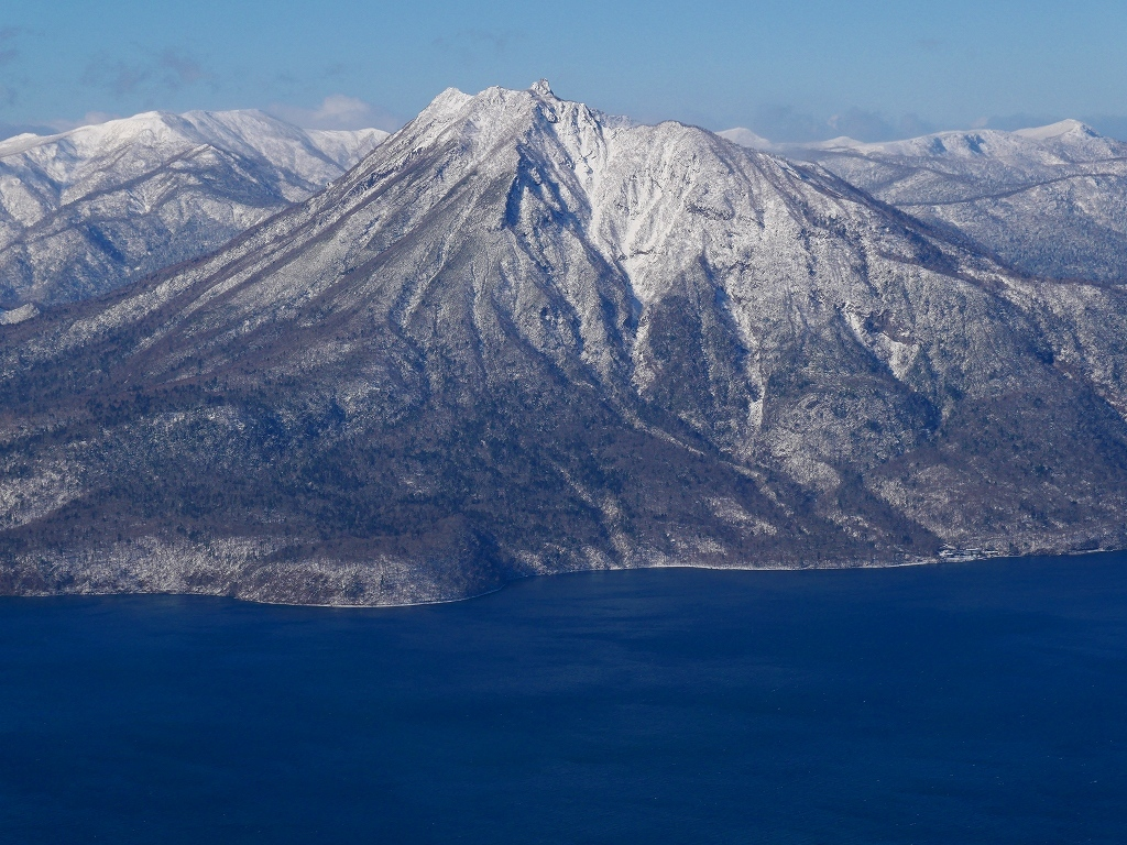 まるで厳冬期の風不死岳(1102m)、2019.11.17_f0138096_12162842.jpg