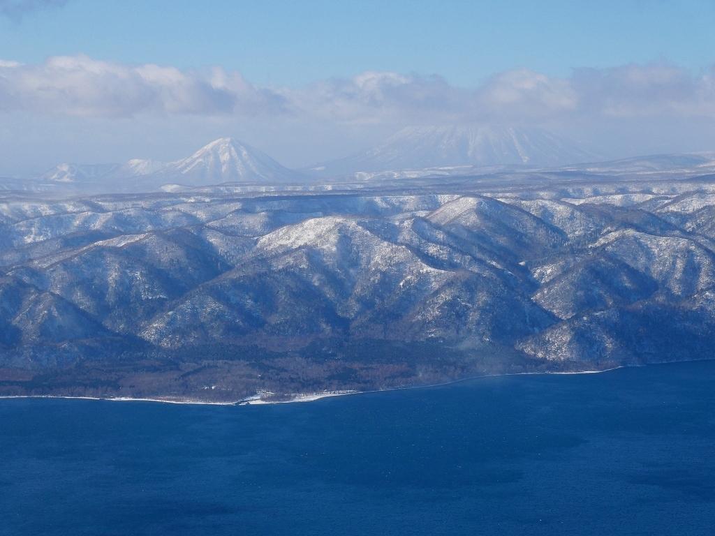 まるで厳冬期の風不死岳(1102m)、2019.11.17_f0138096_12163336.jpg
