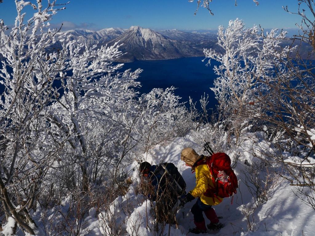 まるで厳冬期の風不死岳(1102m)、2019.11.17_f0138096_12163564.jpg