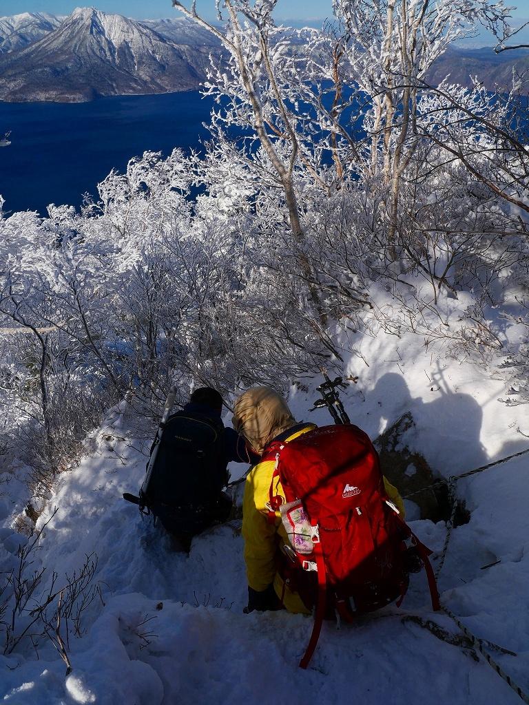 まるで厳冬期の風不死岳(1102m)、2019.11.17_f0138096_12163993.jpg