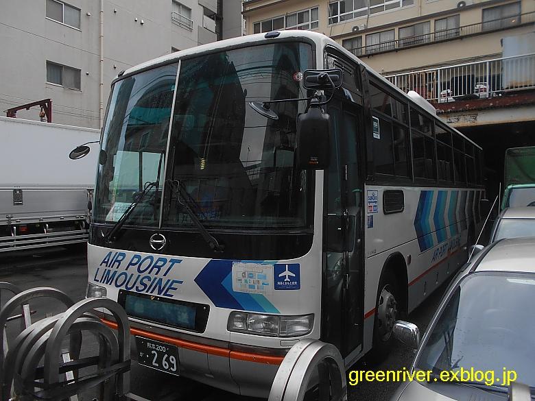 都内某所に九州産交バス_e0004218_1923161.jpg