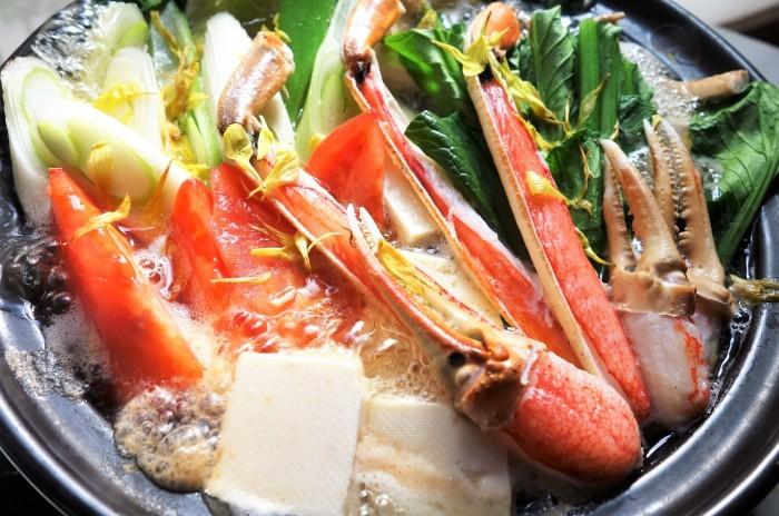 ■【早速頂き物で蟹すきです^^】娘婿殿のご両親が京都から蟹を直送して下さいました♪_b0033423_20442628.jpg