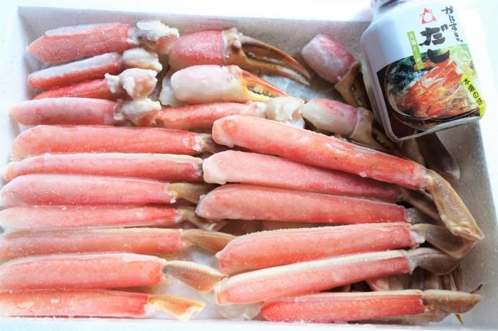 ■【早速頂き物で蟹すきです^^】娘婿殿のご両親が京都から蟹を直送して下さいました♪_b0033423_20480971.jpg