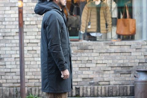 "「Jackman」 防風・防水・保温性・軽量コート \""Spectator Coat\"" ご紹介_f0191324_07302482.jpg"
