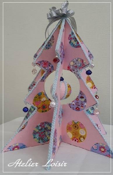 生徒さん作品折り畳みクリスマスツリー_e0307335_20095154.jpg