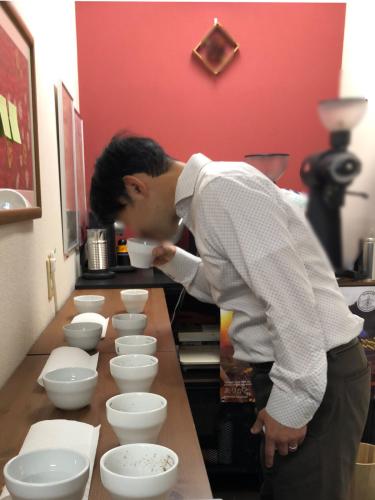今日は、今年最後となるコーヒーの勉強会へ。_f0203335_00283198.jpg