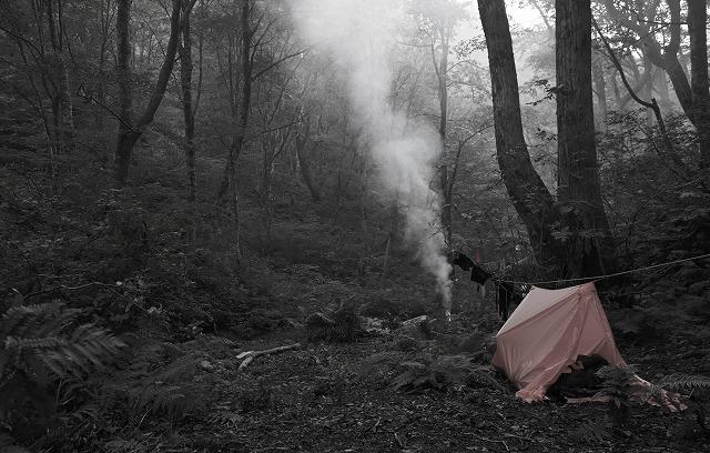 2019/9/25【奥美濃】行けども行けども金ヶ丸 ~ 深い森の闇を背に揺らぐ炎を見つめる ~_e0403837_22491670.jpg