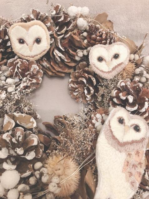 クリスマス小物★刺繍その後_e0379544_20251765.jpeg