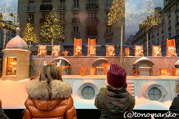 「ボン・マルシェ」のクリスマス_c0024345_23210441.jpg