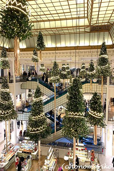 「ボン・マルシェ」のクリスマス_c0024345_23210465.jpg