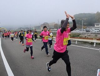 「第14回かがみのハーフマラソン&健康マラソン」に出場しました!_f0151251_14310463.jpg