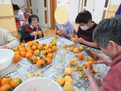 干し柿作り!_c0350752_15033106.jpg
