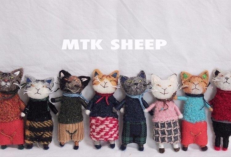 【猫町パレード2】出展者のご紹介 MTK SHEEPさん。_e0060555_10541806.jpg