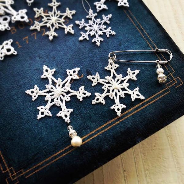 ヴォーグ学園11月の課題『雪の結晶』とギャラリー巡りと。_f0089355_01295548.jpg
