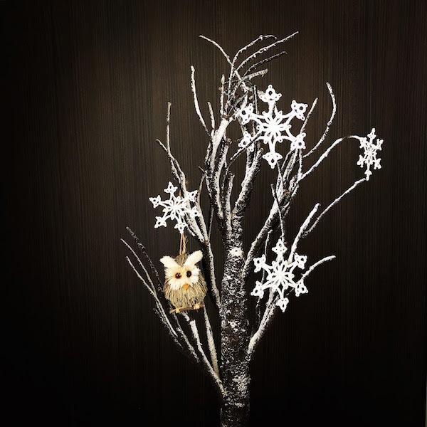 ヴォーグ学園11月の課題『雪の結晶』とギャラリー巡りと。_f0089355_01300063.jpg