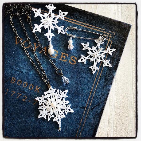 ヴォーグ学園11月の課題『雪の結晶』とギャラリー巡りと。_f0089355_01300177.jpg