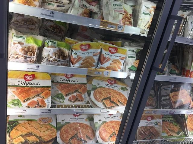 アテネのスーパーで食品買出し&蠅帳ゲット!_a0123372_01004206.jpg
