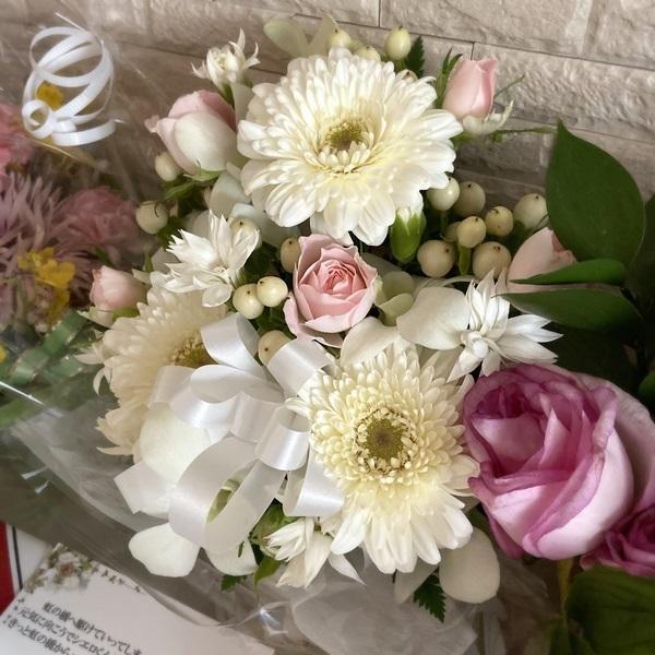 カリグラフィー教室のこと。ブログのこと。そしてお花を☆_b0165872_14425847.jpeg