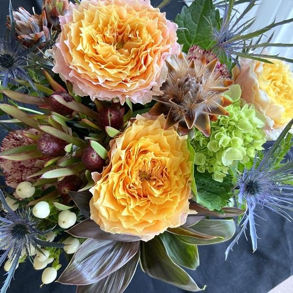 カリグラフィー教室のこと。ブログのこと。そしてお花を☆_b0165872_14430640.jpeg