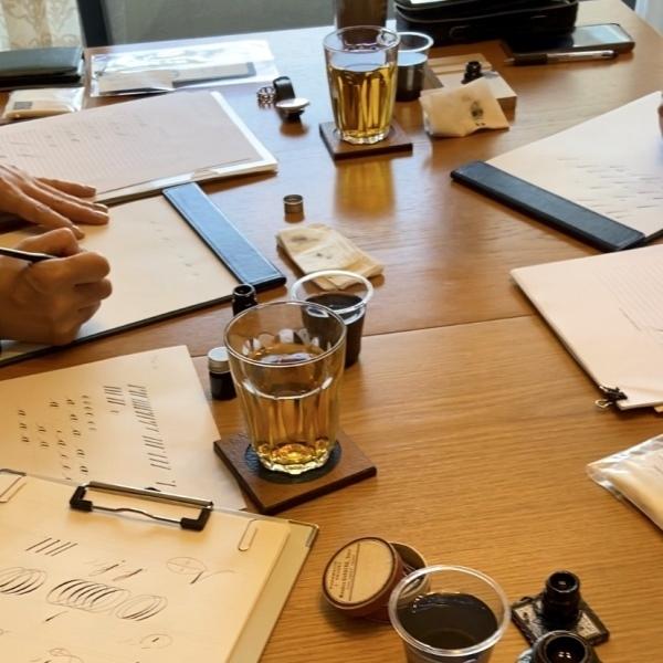 カリグラフィー教室のこと。ブログのこと。そしてお花を☆_b0165872_14433331.jpeg