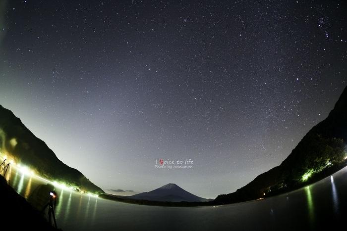精進湖の星空☆_f0326278_23272843.jpg