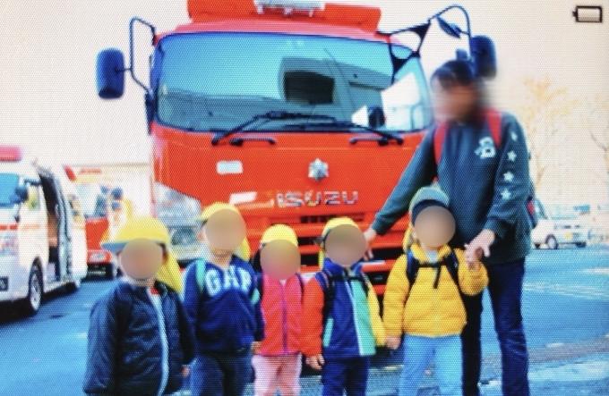 ぞうクラス、消防署見学に行きました!_c0293682_21592971.jpg