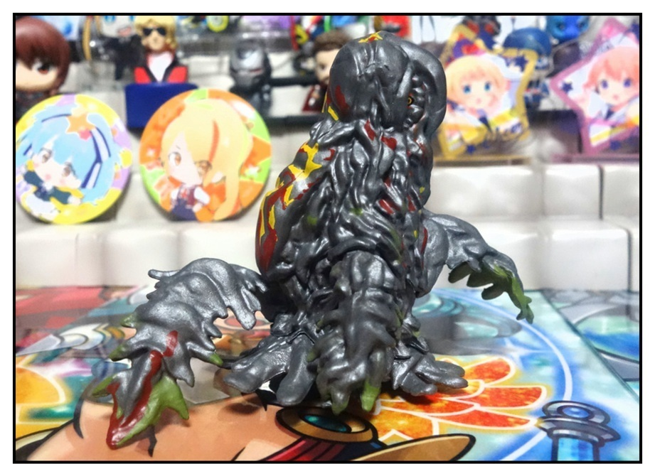レア怪獣登場!? ~HG D+ゴジラ02~_f0205396_09493237.jpg