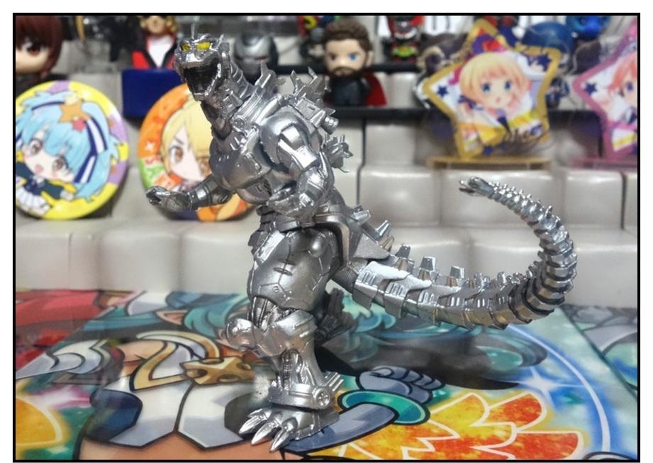 レア怪獣登場!? ~HG D+ゴジラ02~_f0205396_09502402.jpg