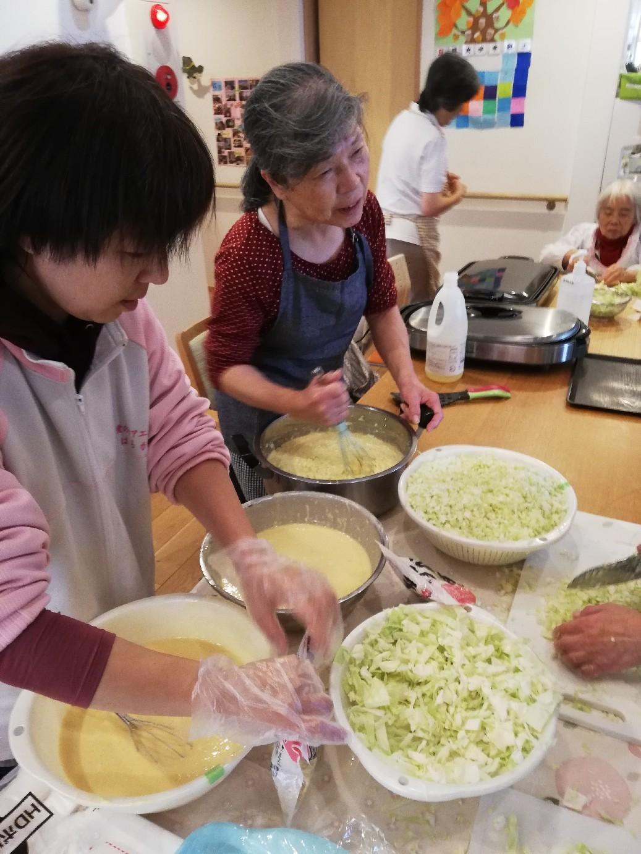 1F 家族食事交流会_f0376200_11071905.jpg