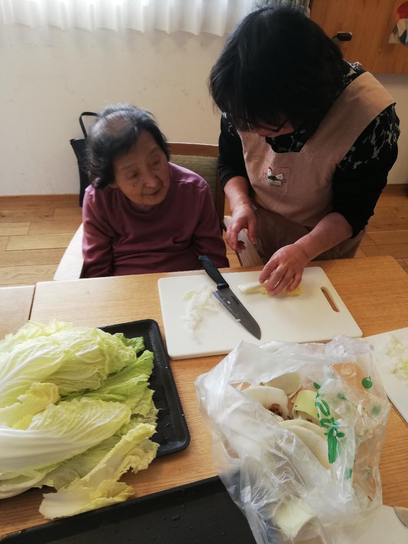 1F 家族食事交流会_f0376200_11075113.jpg