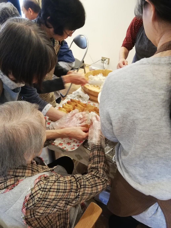 1F 家族食事交流会_f0376200_11081977.jpg