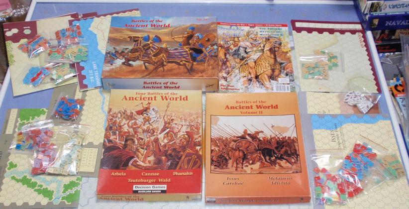 DG「Battles of the Ancient World」シリーズから「Carrhae 53 B.C」をソロプレイ①_b0162202_19555059.jpg