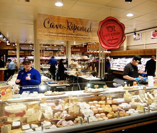 ウェグマンズのチーズ試食コーナーは「食」の体験型エンターテインメント_b0007805_03082595.jpg