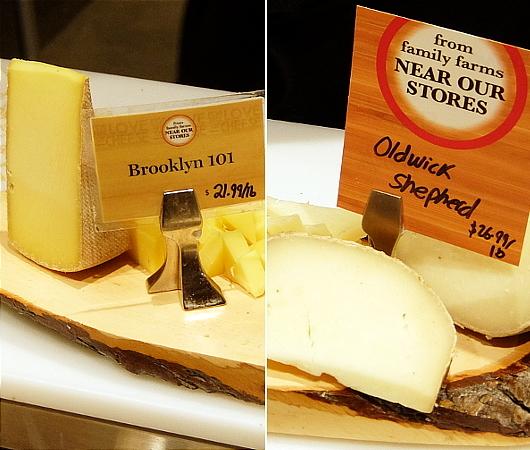 ウェグマンズのチーズ試食コーナーは「食」の体験型エンターテインメント_b0007805_03141109.jpg