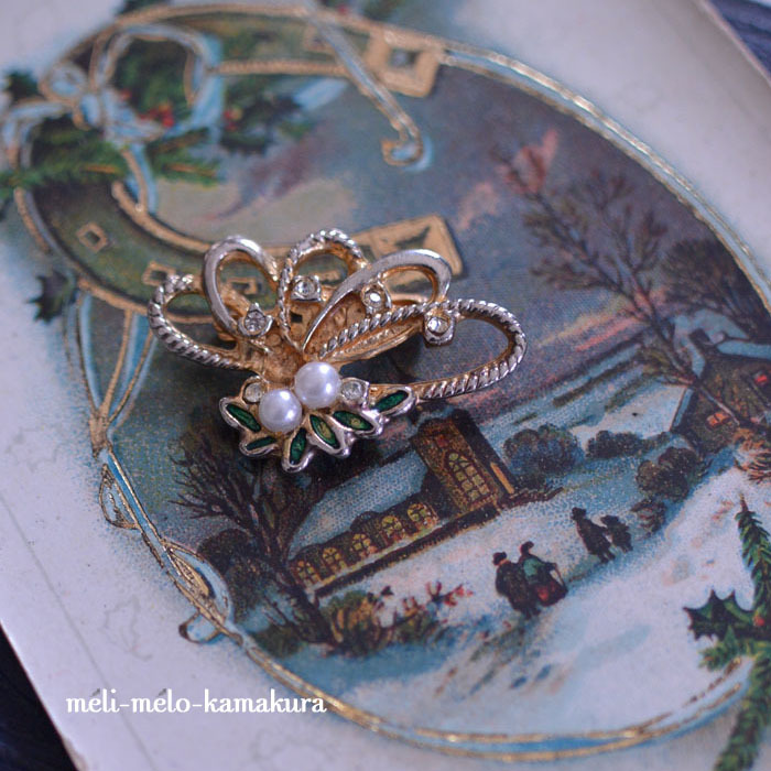 ◆フランスアンティーク*大江戸骨董市にお持ちするブローチ_f0251032_10470044.jpg