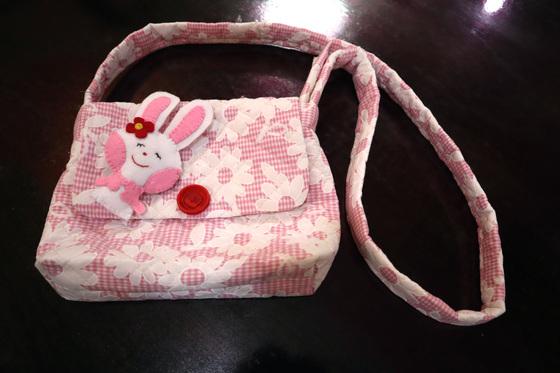 裁縫 ~ ウサギのポシェット ~_e0222340_1525372.jpg