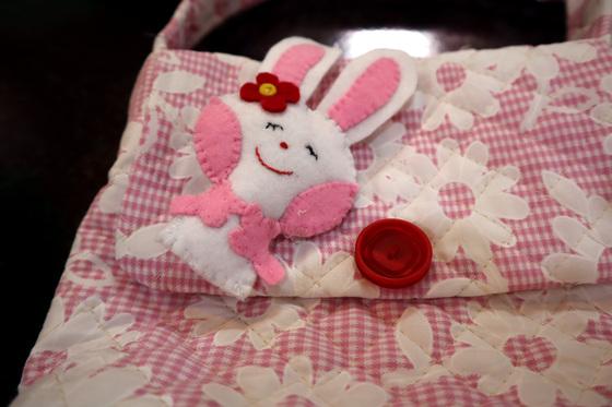裁縫 ~ ウサギのポシェット ~_e0222340_15254280.jpg