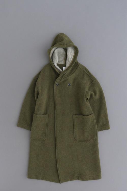 prit Wool Hooded Coat (Olive)_d0120442_13493861.jpg